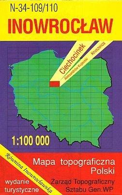N-34-109/110 Inowroclaw 1:100.000