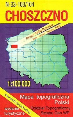 N-33-103/104 Choszczno 1:100.000