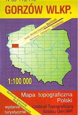 N-33-115/116 Gorzow 1:100.000