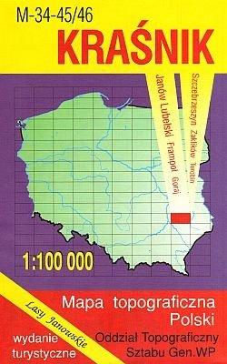 M-34-45/46 Krasnik 1:100.000