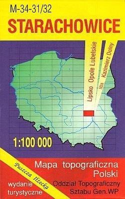 M-34-31/32 Starachowice 1:100.000