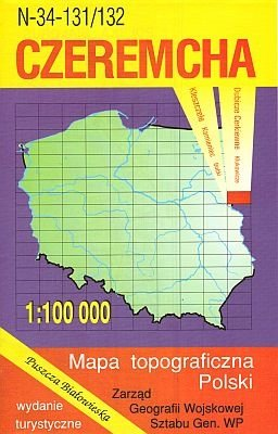 N-34-131/132 Czeremcha 1:100.000