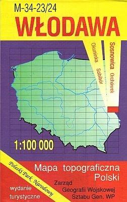 M-34-23/24 Wlodawa 1:100.000