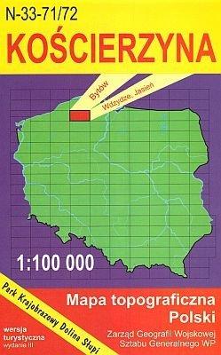 N-33-71/72 Koscierzyna 1:100.000