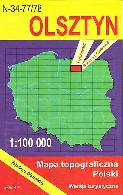 N-34-77/78 Olsztyn 1:100.000
