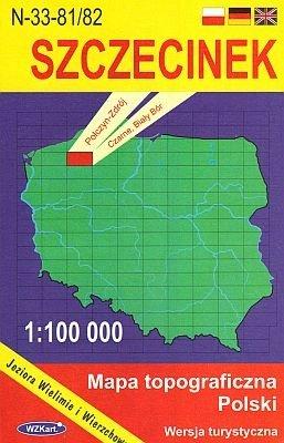 N-33-81/82 Szczecinek 1:100.000