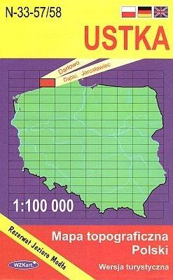 N-33-57/58 Ustka 1:100.000