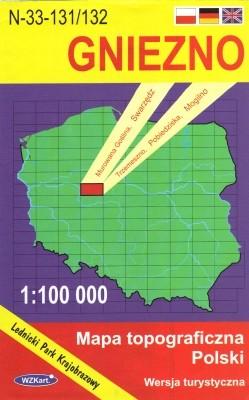 N-33-131/132 Gniezno 1:100.000