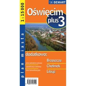 Oswiecim / Auschwitz 1:15.000