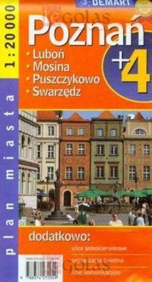 Poznan (+4) Plan Miasta 1:20.000