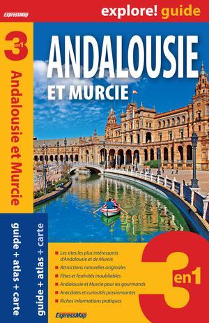 Andalousie & Murcie explore gids + atlas + kaart