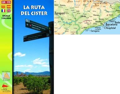 La Ruta Del Cister Gr-175 1:30.000