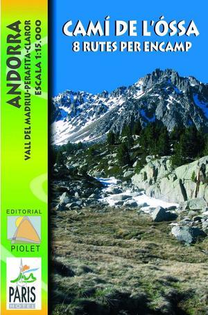 Cami De L Ossa Andorra 1:15.000