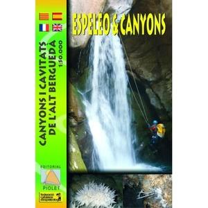 Espeleo & Canyons De L'alt Bergueda 1:50.000