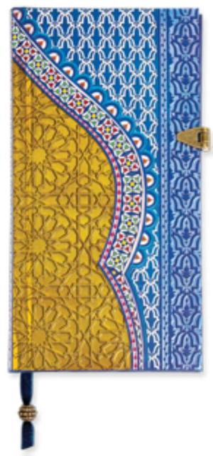 Boncahier Arabian nights - blauw/goud