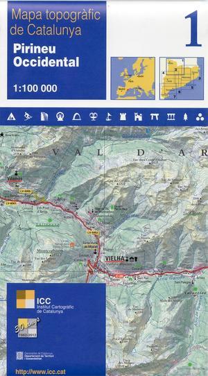 01 Pirineu Occidetal 1:100.000 Icc