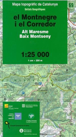 69 El Montnegre I El Corredor 1:25.000