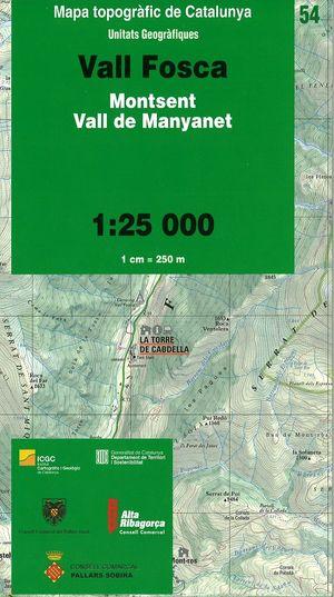 54 Val Fosca 1:25.000 Icc