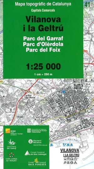 41 Vilanova I La Geltru 1:25.000 Icc