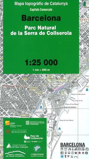 04 Barcelona Pn La Serra Collserola 1:25.000 Icc