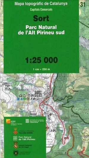 31 Sort (alt Pirineu Sud) 1:25.000 Icc