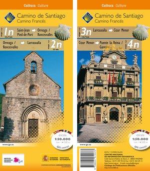 Camino Santiago 1n4n Gps Stjeanpuente Re