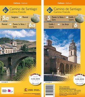 Camino Santiago 5a6 Gps Sangesalos Arcos
