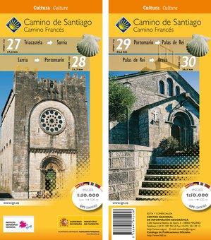 Camino Santiago 2730 Gps Triacastelaarza