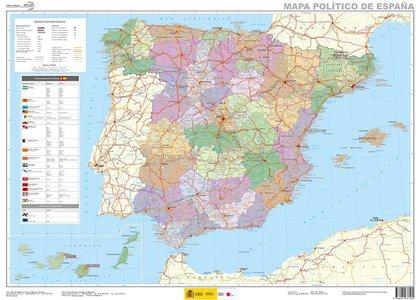 Spanje administratief plano