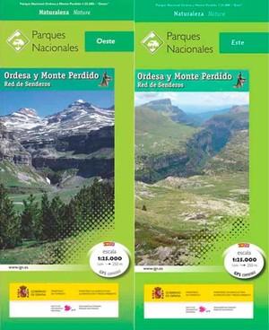 Ordesa y Monte Perdido. Red de senderos.