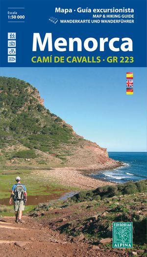 Menorca GR223 - guide+klim+MTB kaart