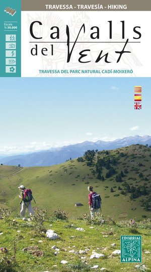 Cavalls del Vent guide + kaart PN Cadi-Moixero