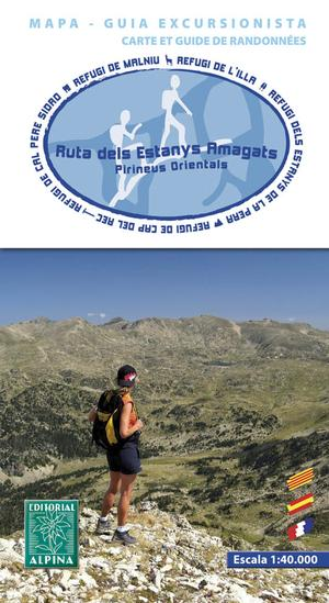 Ruta dels Estanys Amagats map&guide