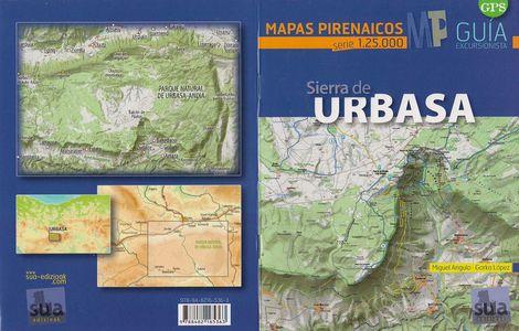 Sierra De Urbasa 1:25.000 Gids+kaart