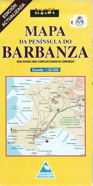Peninsula Do Barbanza 1:32.000