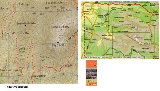 6 Sierras De Sos Y Uncastillo 1:25.000