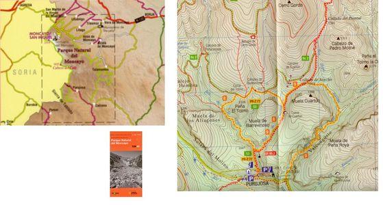 3 Pn Del Moncayo Guia+mapa 1:25.000