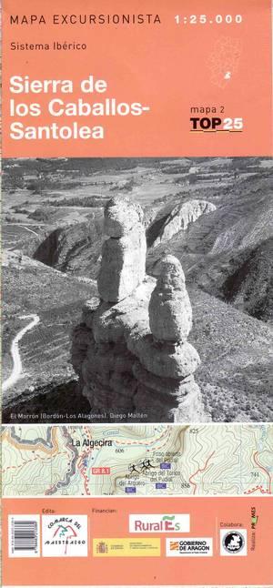 Sierra De Los Caballos-santo 1:25.000 Prames