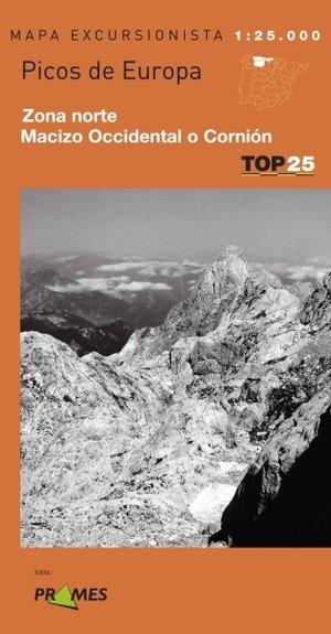 Picos De Europa Occ Norte 1:25.000