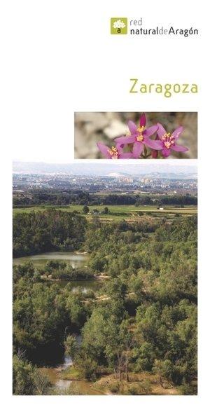 Zaragoza Provincie Met Losse Kaart