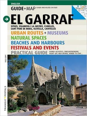 El Garraf Guide+map Triangle (catalonia)
