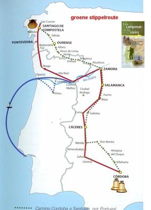 Camino De Cordoba Pasando Por Portugal