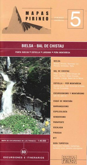 Bielsa-bal De Chistau 1:40.000