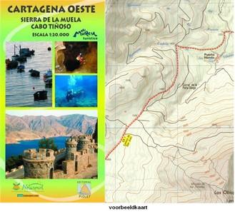 Cartagena Oeste - Sierra De La Muela, Cabo Tinoso 1:20.000