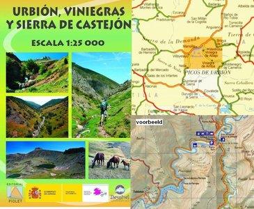 Urbion Viniegras (la Rioja) 1:25.000