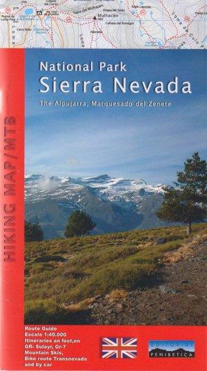 Sierra Nevada - La Alpujarra, Marquesado Del Zenete 1:40.000
