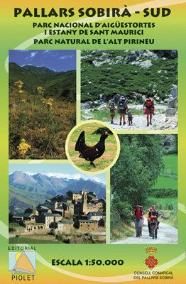 Pallars Sobira Sud 1:50.000