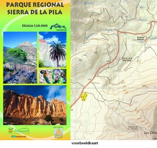 P.r. Sierra De La Pila (murcia) 1:20.000