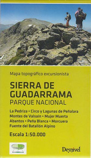 Sierra De Guadarrama Pn 1:50.000