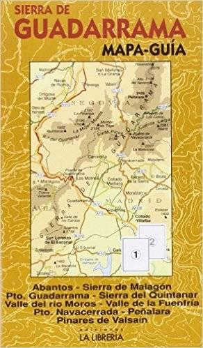 Sierra De Guadarrama Mapa Guia 1:40d